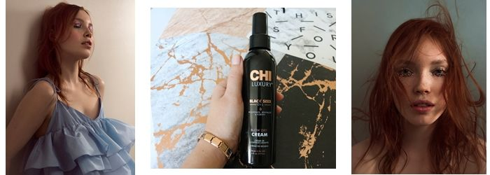 Разглаживающий крем для волос Чи