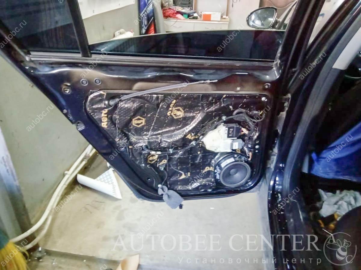 VW Passat b6 (шумоизоляция дверей)