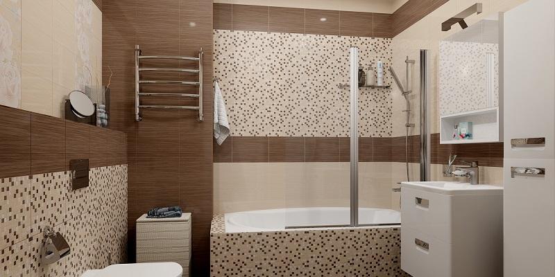 Угловая шторка для прямоугольной ванны