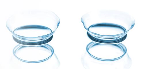 контактные линзы, фото