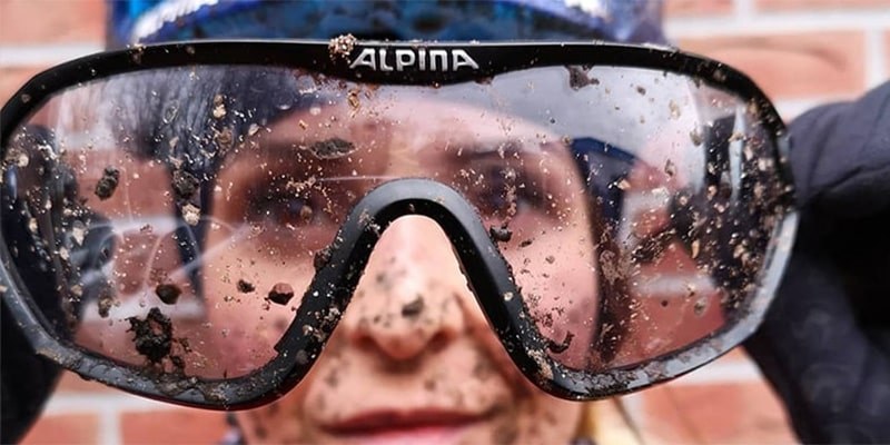 захист очей від бризок і бруду