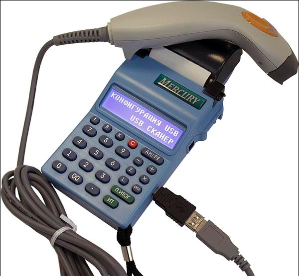 Меркурий 180Ф со сканером