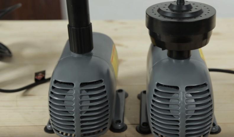 Модели насосов для фонтана