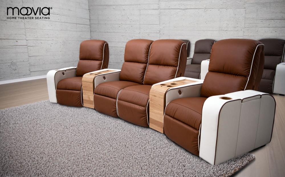 Кресла для домашнего кинотеатра Moovie Dallas