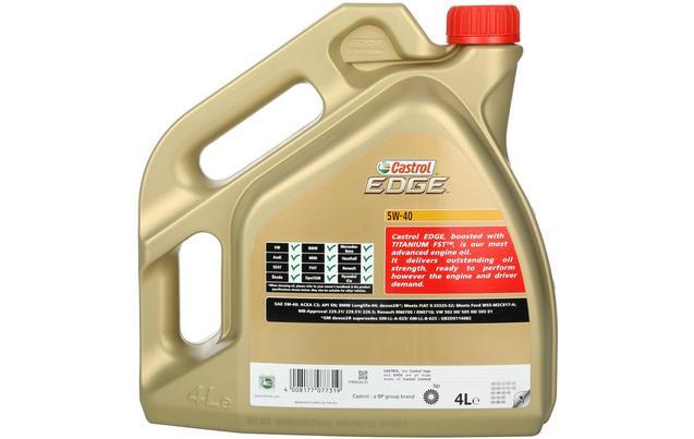 Castrol Edge 5w40 4 литра