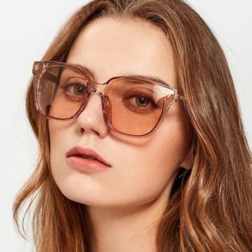 коричневые очки