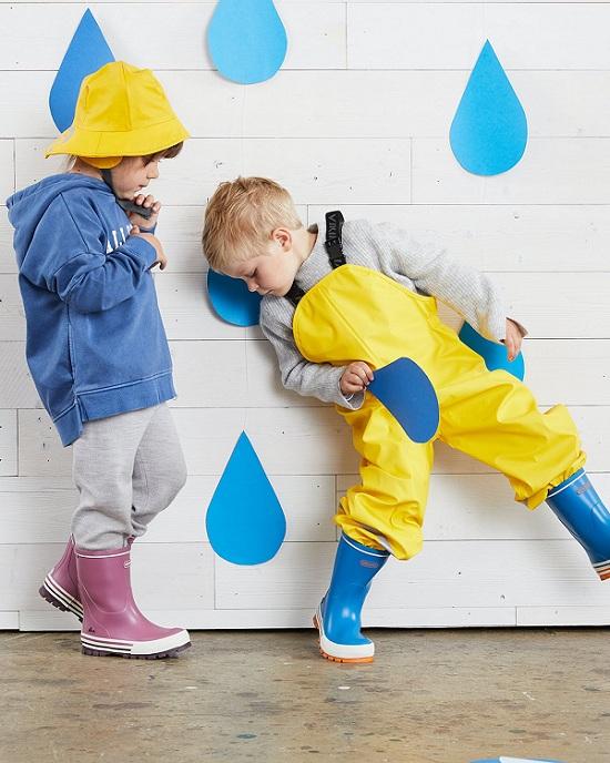 Резиновые сапоги Viking Jolly Blue Orange в интернет-магазине Viking-boots