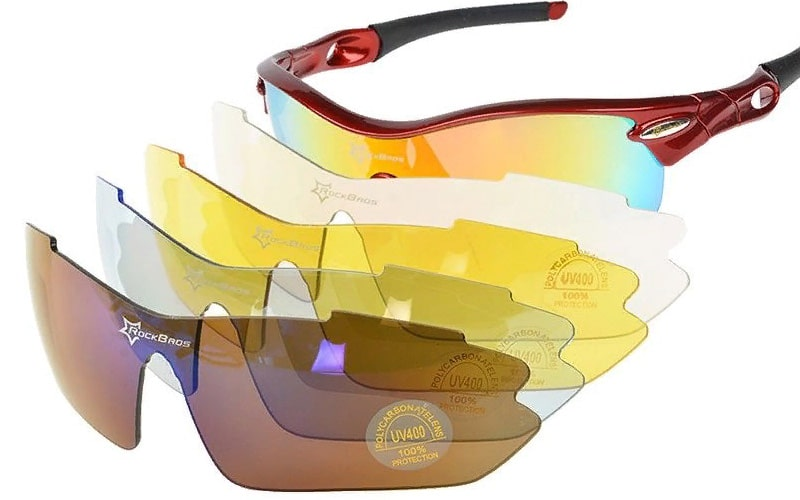 Велосипедні окуляри зі змінними лінзами