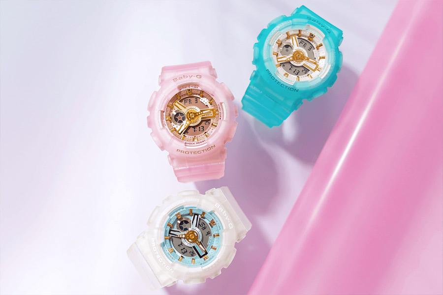 Наручные часы Касио Беби Джи фото