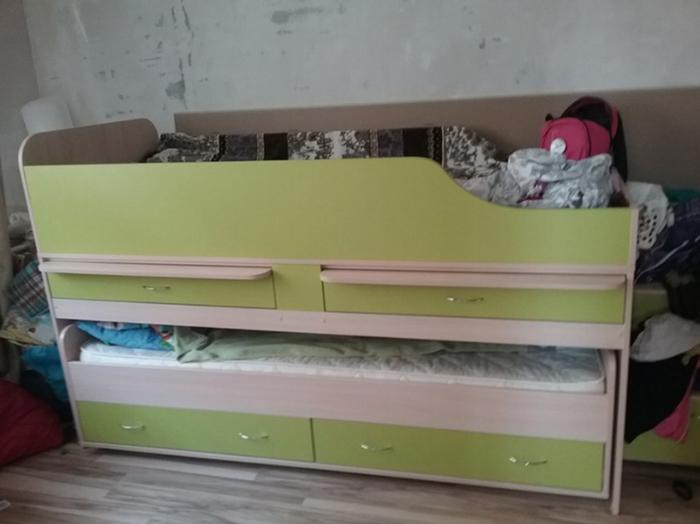 выкатная кровать дуэт-8