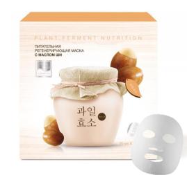 Питательная регенерирующая тканевая маска с маслом Ши