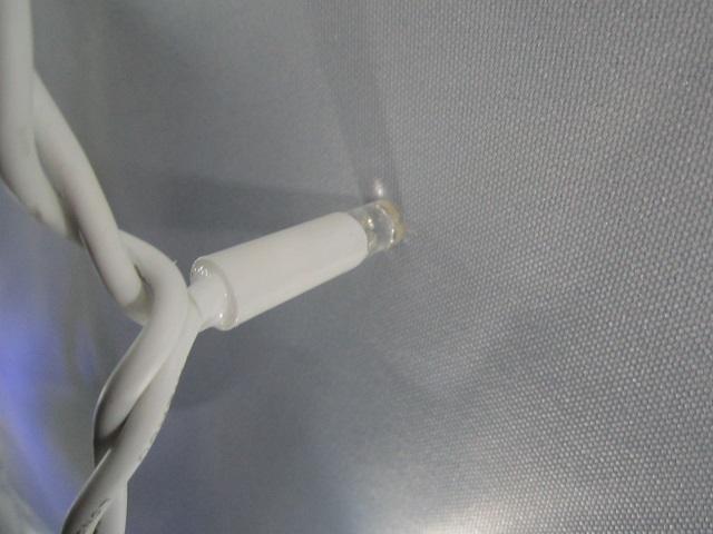 провод гирлянды бахрома 5 метров белый