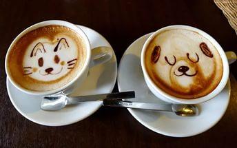 фото кофе в рисунком