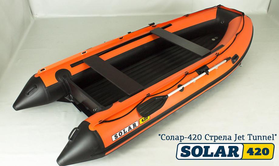 Лодка Солар с водометом