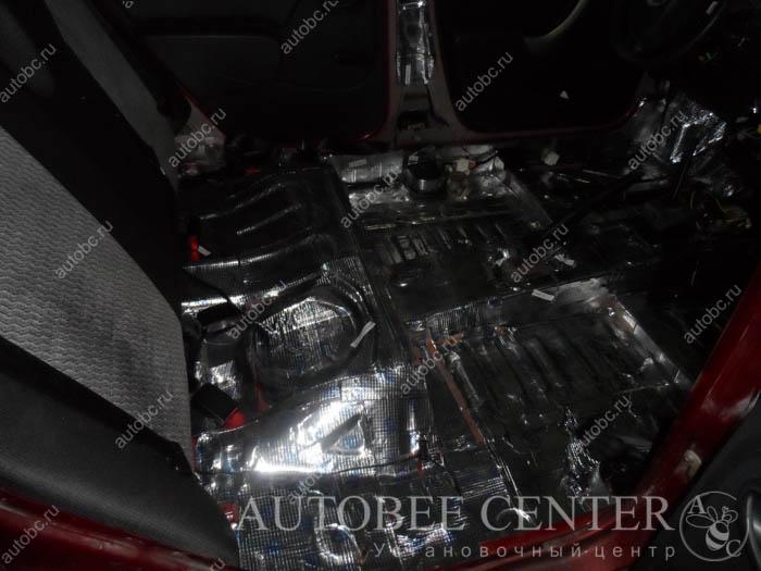 шумоизоляция пола в авто