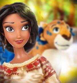 Набор кукол - Принцесса Елена и говорящий Скайлар от Дисней