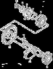Балансирный вал ДВС Стелс Леопард 500-600-650
