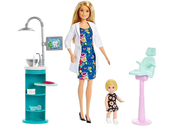 Barbie из серии Кем быть - игровой набор Дантист
