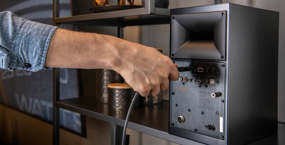 Беспроводная аудиосистема Klipsch The Fives Black