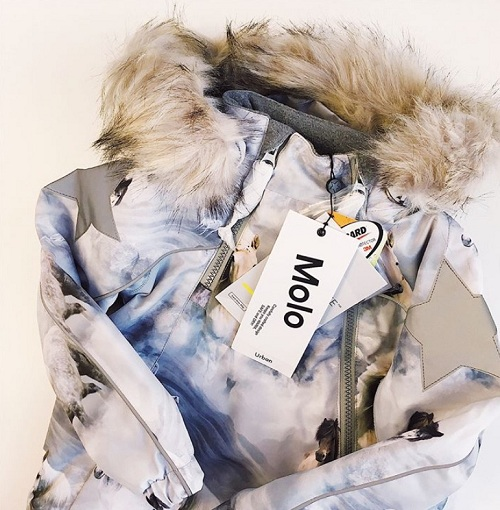 Куртка Molo Hopla Pony купить в интернет-магазине Мама Любит!