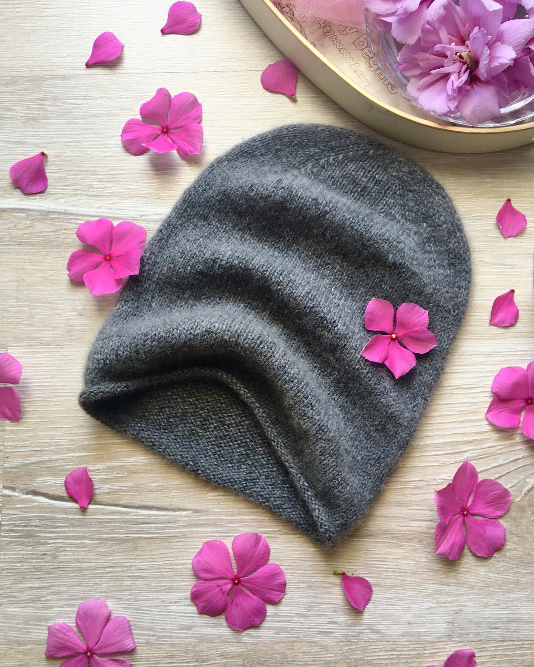 шапка из монгольского кашемира