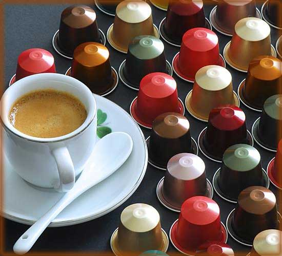фото капсульного кофе