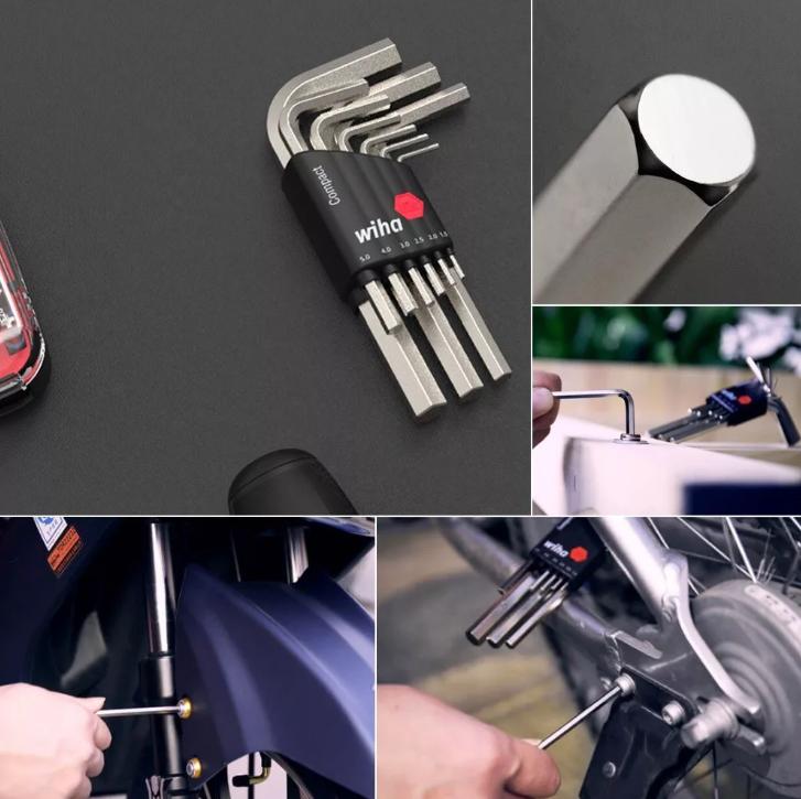 Набор шестигранников wiha Compact Hex Wrench (9 шт) широкое применение