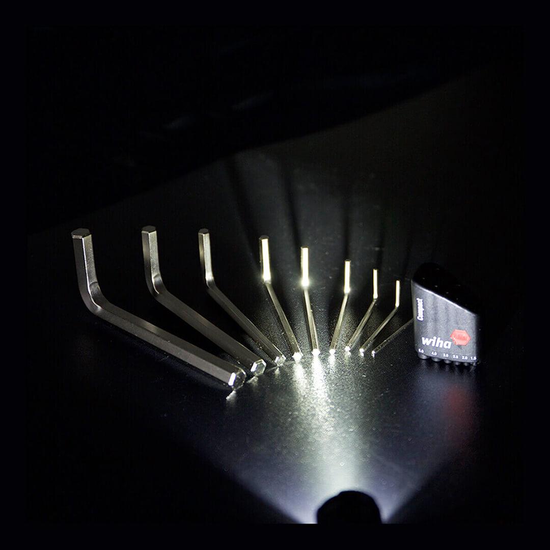 Набор шестигранников wiha Compact Hex Wrench (9 шт) практичность