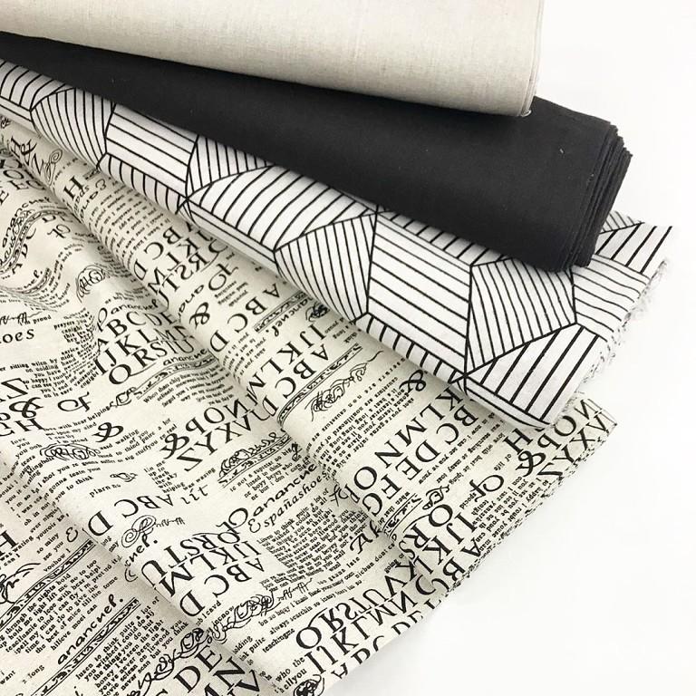 Интерьерная льняная ткань