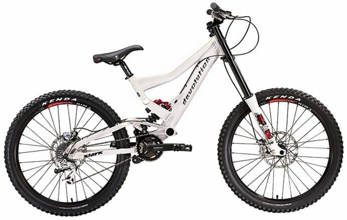 велосипед для фрірайду з алюмінієвою рамою