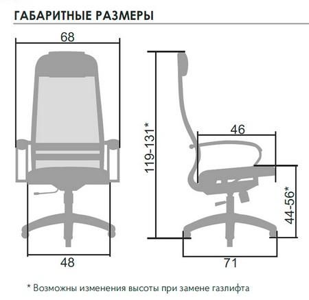 ГАБАРИТНЫЕ РАЗМЕРЫ SU-1-BP комплект 11