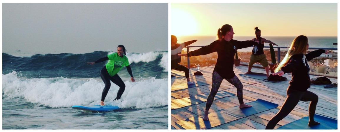 Серфинг йога кемп 2021