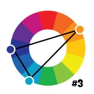 Цветовой круг 3