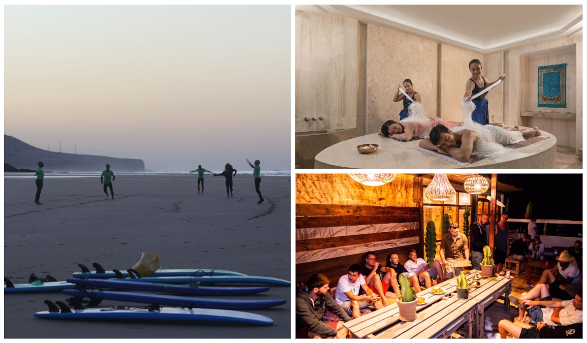 Серфинг и йога кемп 2021 Марокко