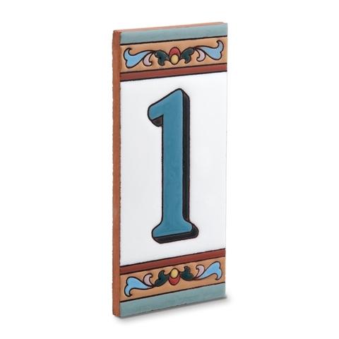 Керамические номера на дом