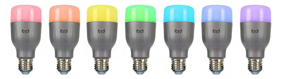 изменяйте цвет свечения, выбирая один из 16 миллионов оттенков
