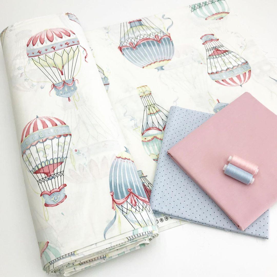 Ткань поплин люкс для пошива постельного белья