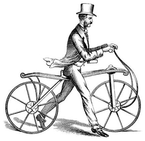 Перший беговел в 1817 році