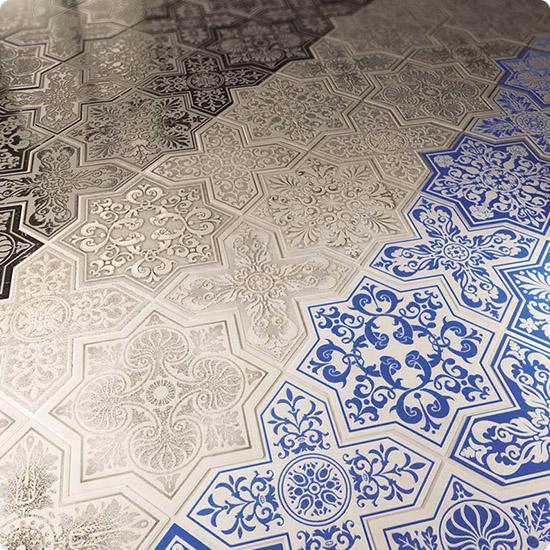 Мозаика Pantheon на полу