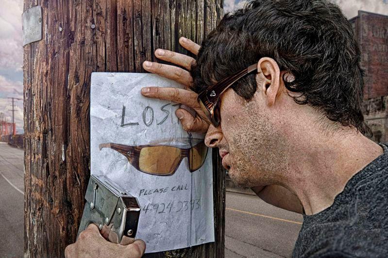 Потерял очки