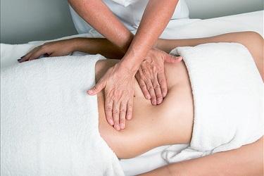 послеродовой массаж живота