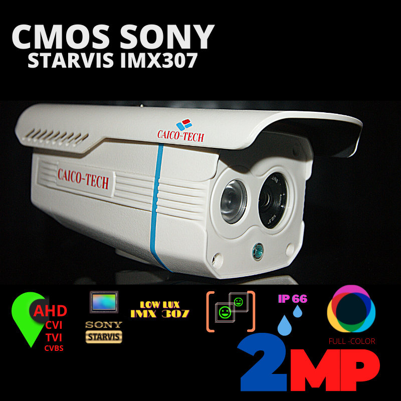 CAICO CMOS SONY IMX 307 2 Мп обзор лучшей камеры