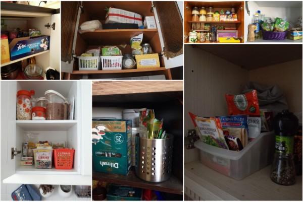 Хранение специй. Часть 2: хранение в шкафах и ящиках.