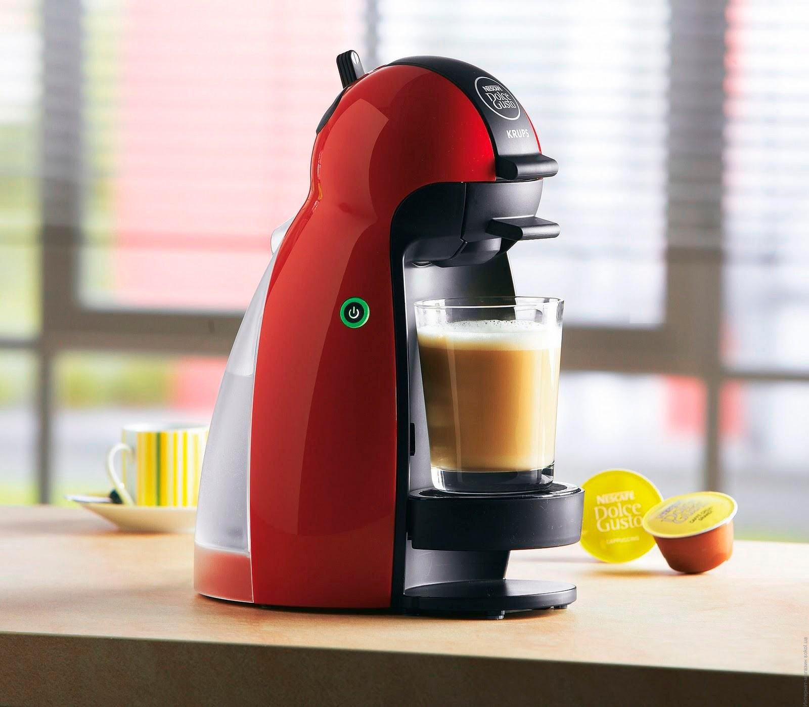 фото кофемашины для капсул с кофе