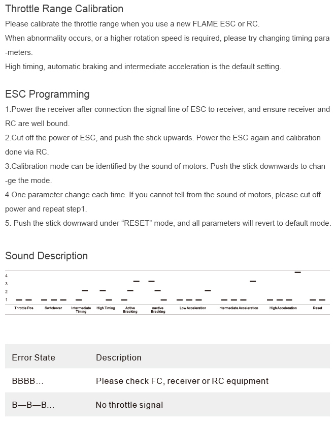 Инструкция по настройке регулятора для фпв гонок t-motor flame 25 pro