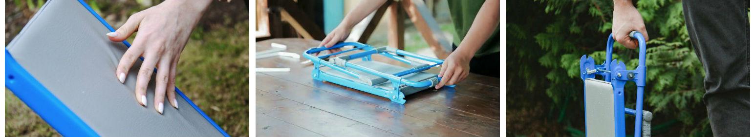 скамейка-перевертыш с мягким сиденьем
