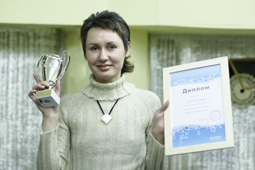 Ольга Алтунина - победитель в номинации Лучшее тематическое мыло
