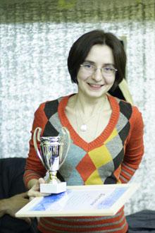 Ольга Багина - победитель в номинации Самое вкусное мыло