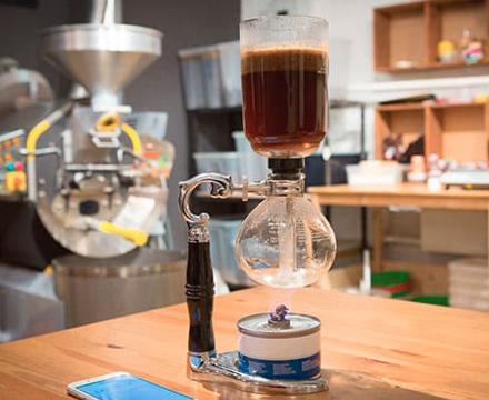 Сифон для заваривани кофе и чая
