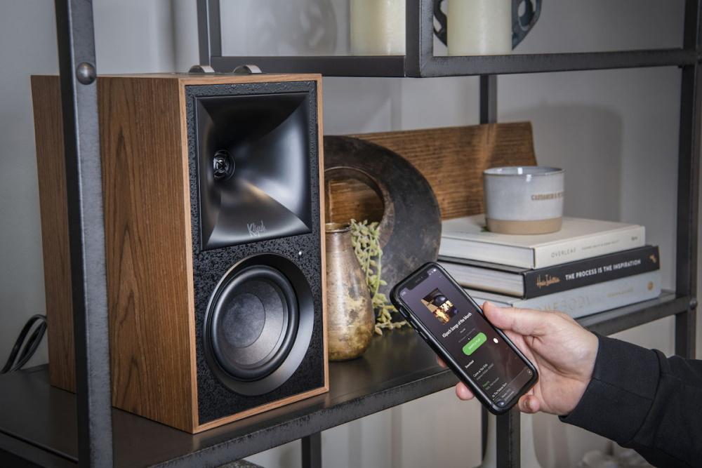 Беспроводная аудиосистема Klipsch The Fives Walnut